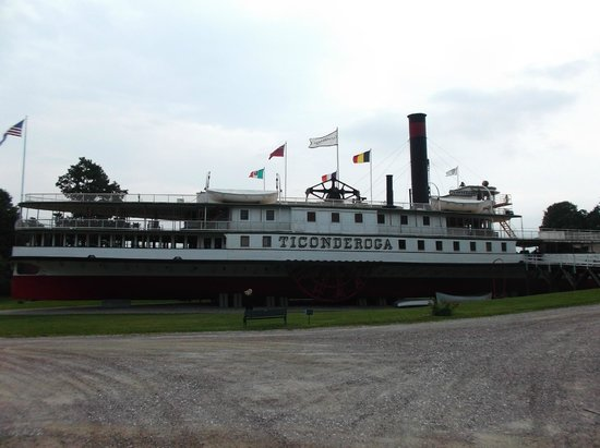 Shelburne Museum: Ticonderoga restored!