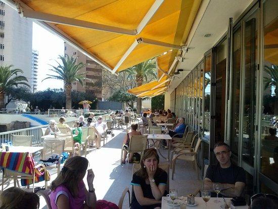 Hotel RH Princesa & Spa: terraza