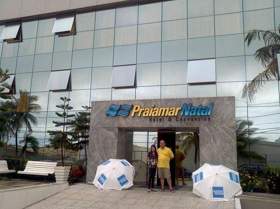 Praiamar Natal Hotel & Convention: Fachada do Hotel