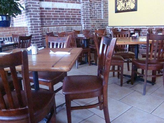 Holy Frijoles: Inside dining room