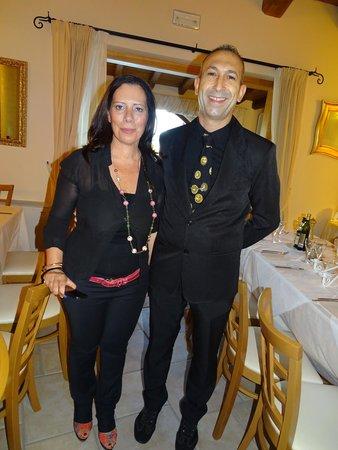 Hotel Club Baia del Porto : Franco et la directrice
