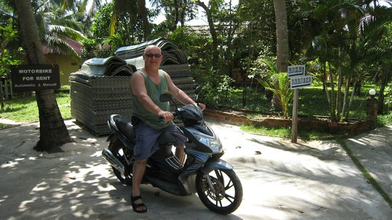 Sea Star Resort: 125cc of raw power!