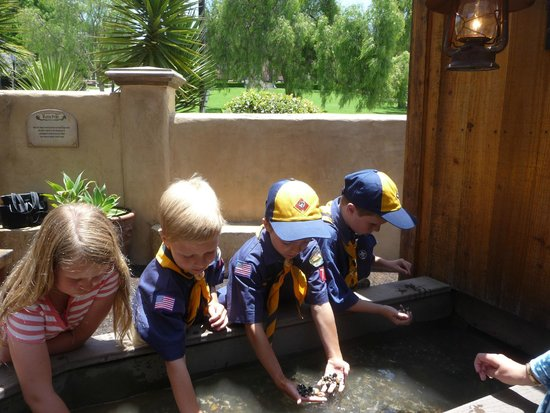 Mormon Battalion Historic Site: Panning for Gold