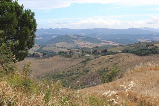 Beautiful views at Fattoria il Palagio