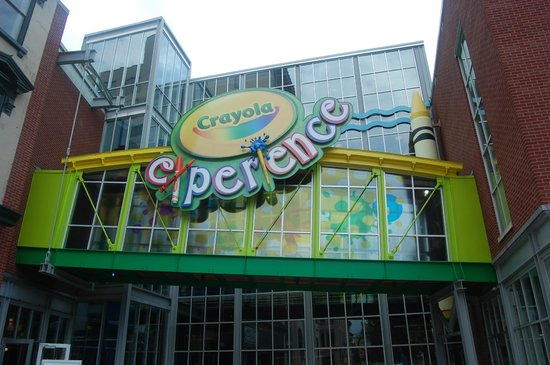 Crayola Experience: As you enter