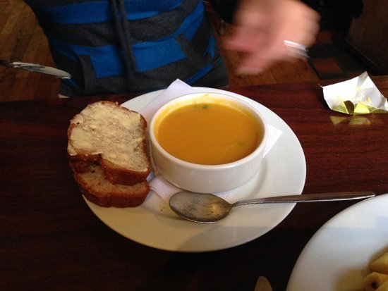 O'Connors Pub Doolin: soup