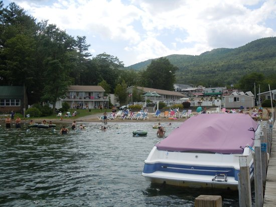 Marine Village Resort : View from the water