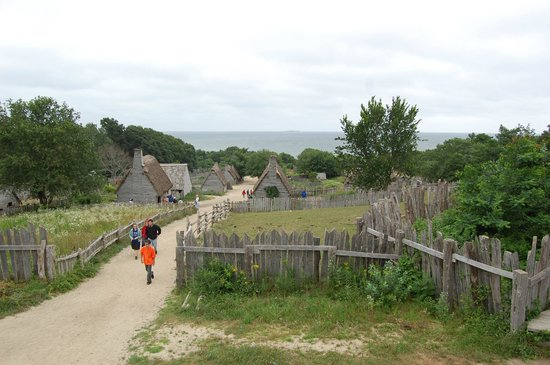 Plimoth Plantation: View from the fort