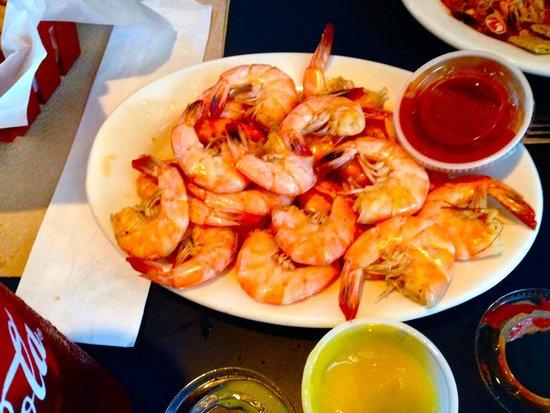 Shrimp Basket: all U can eat shrimp