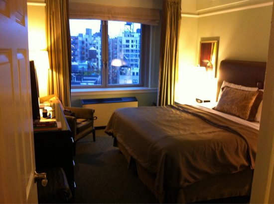 Hotel Beacon : La chambre de la suite king size
