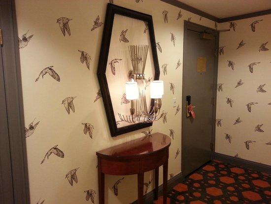 Kimpton Hotel Monaco Portland: Room entry
