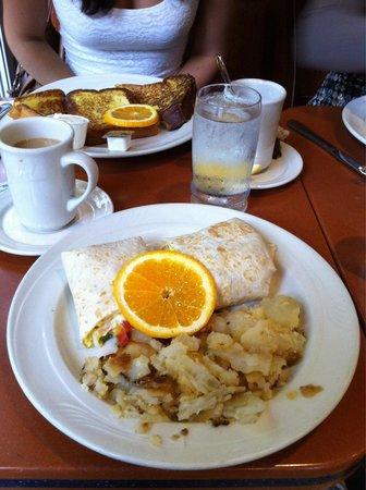 Cafe Viand : Le Cowboy Wrap