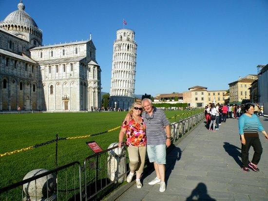 Passeggiata sulle mura di Pisa : MARAVILLOSO LUGAR!!!!