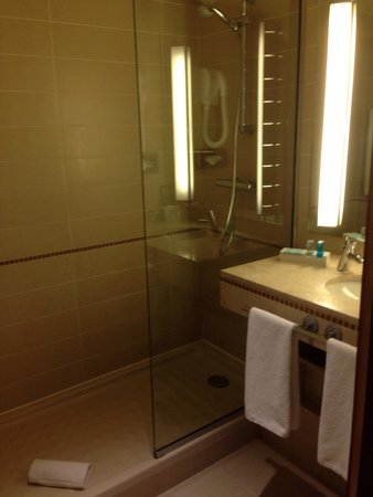 Novotel Casablanca City Center: Shower