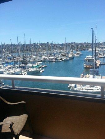 Bay Club Hotel & Marina: View from my room