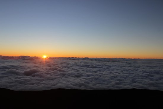 Haleakala Crater: Sunset on Haleakala