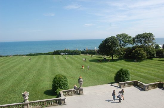 The Breakers: Over looking the lawn