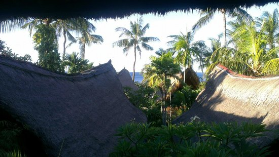 Santai Hotel Bali: View from the room's terrace