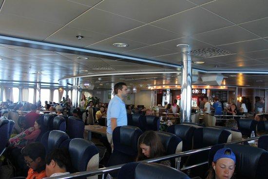 Hellenic Seaways: Business Class on Ferry