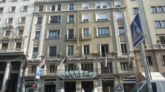 Hotel Regina: Frente del hotel
