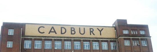Cadbury World: The sign