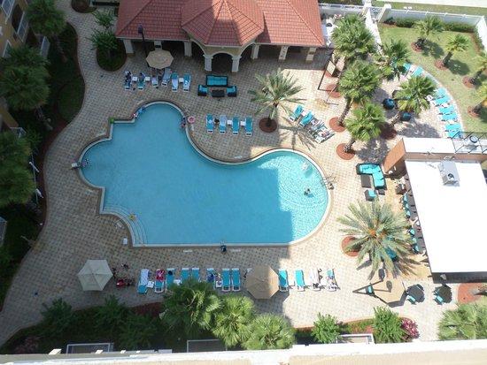 The Point Orlando Resort: Piscina, vista do quarto (11 andar)