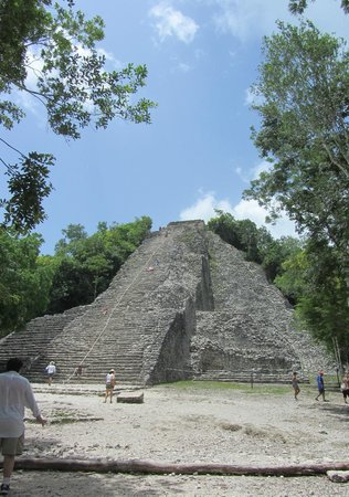 Coba Mayan Traditions: The Tower