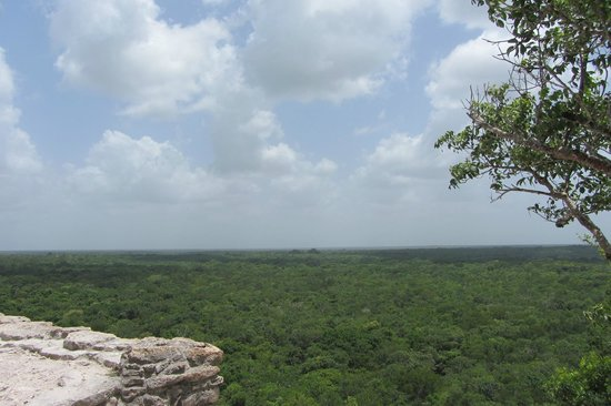Coba Mayan Traditions: Above the jungle