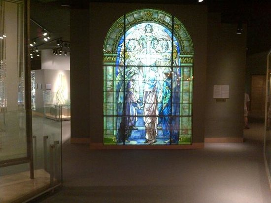 Corning Museum of Glass: Stained Glass Church Window
