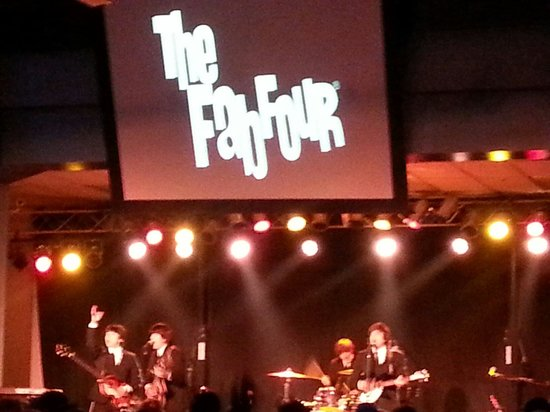 The Fab Four performing at the Ho Chunk Casino in Black River Falls.