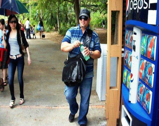 Zoo Miami: Area para resfrescarse.
