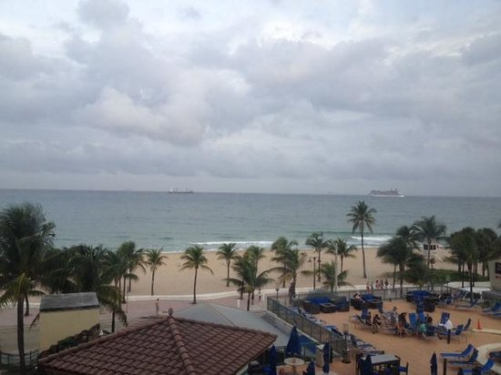 Courtyard Fort Lauderdale Beach: View from our room