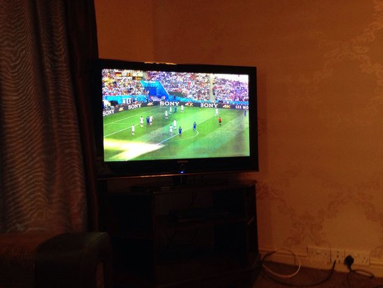Dimple Well Lodge: �� tv was shocking - picture very poor