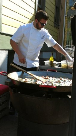 """High West Distillery & Saloon : Beware the """"special"""" paella."""