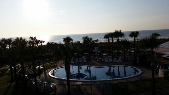 Seahorse Oceanfront Inn: View from the penthouse!