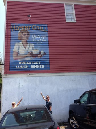 Hominy Grill: Can't Miss it