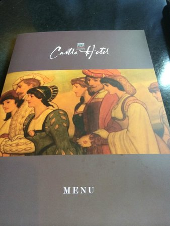 Castle Hotel: Our Menu