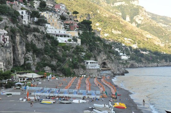 Covo Dei Saraceni: view from hotel
