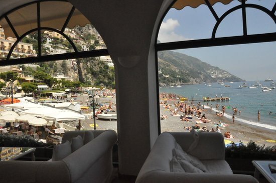 Covo Dei Saraceni: view from the lobby!!!!