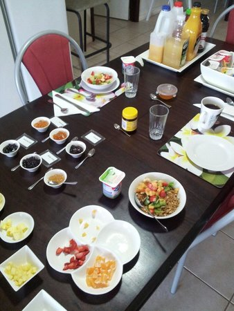 Ningaloo Bed & Breakfast: Breakfast fit for a King!