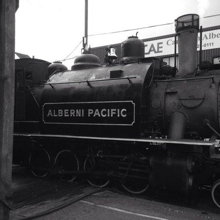 Alberni Pacific Railway: No. 7 Steam Locomotive