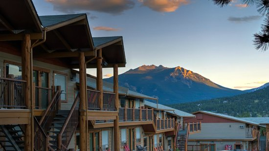 Hotel Estes: Mountain views