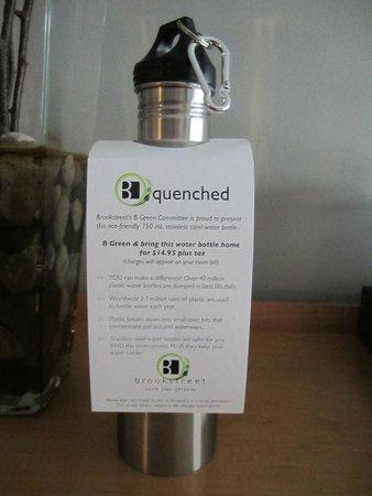 Brookstreet Hotel: My water bottle