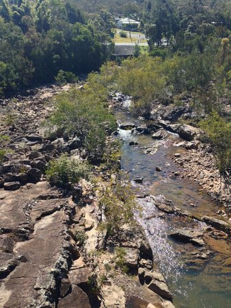 Historic Village Herberton: Walking across the bridge