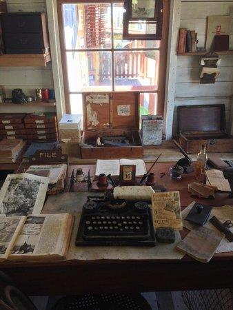 Historic Village Herberton: Typewriters - Letterpress section