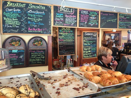 The Point Coffee House and Bake Shoppe: Great selection of fresh baked foods and roasted coffees