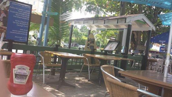 Coconut Joe's Beach Bar & Grill: signs