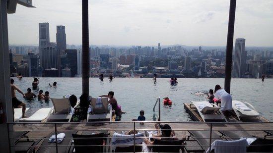 Marina Bay Sands: プール1