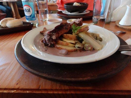 Baltinache Restaurant: Prato Principal