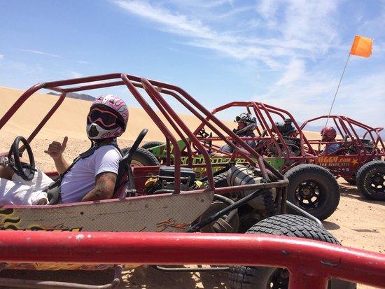 Sun Buggy & ATV Fun Rentals: Sun buggy mini chase in Vegas.  Shaka brah!